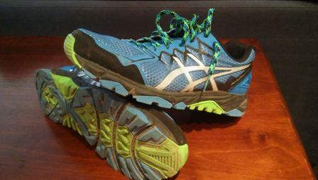 Mercatino scarpe Asics Gel Fujitrabuco