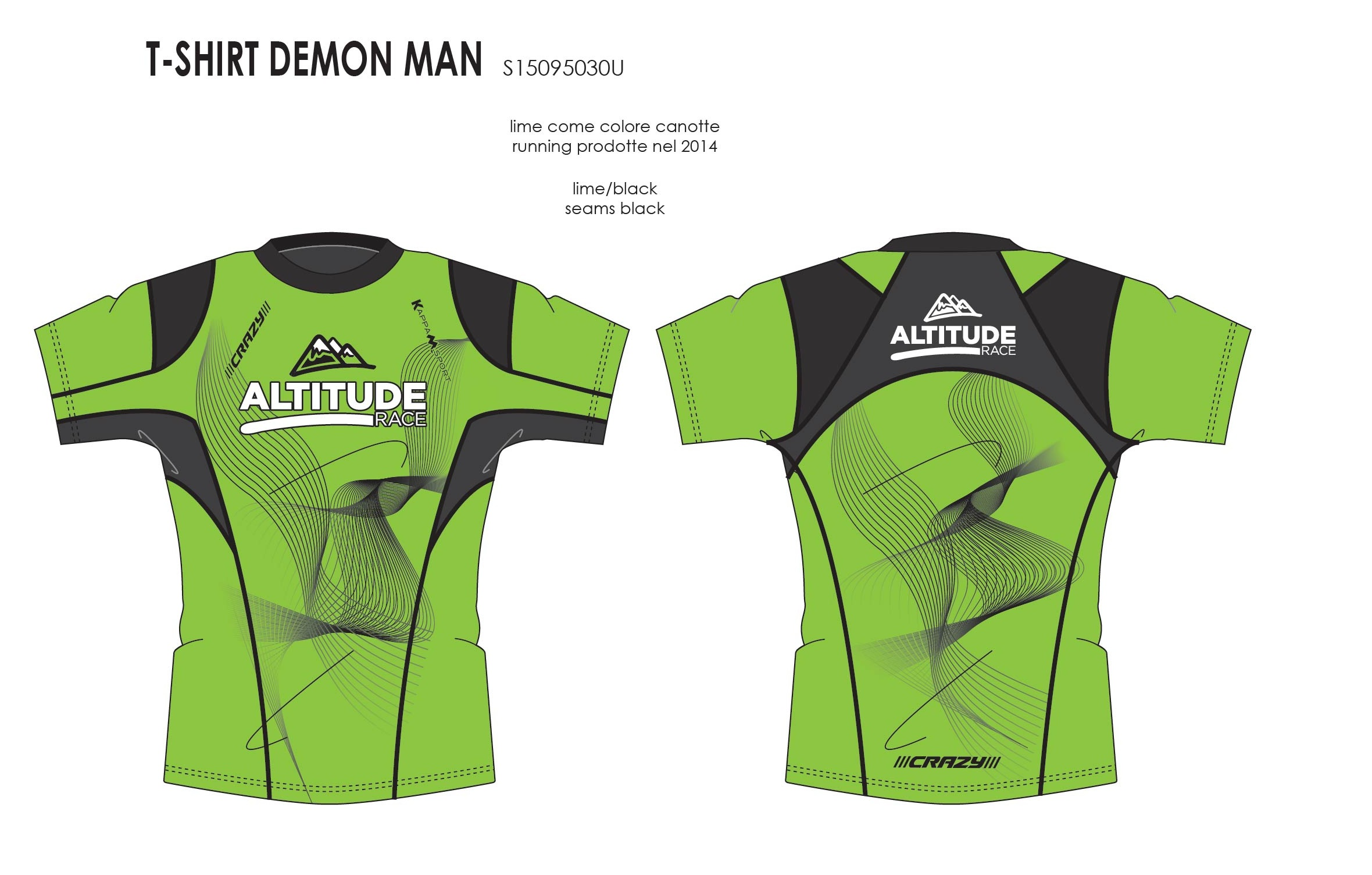 11-S15095030U T-SHIRT DEMON MAN altitude race 2