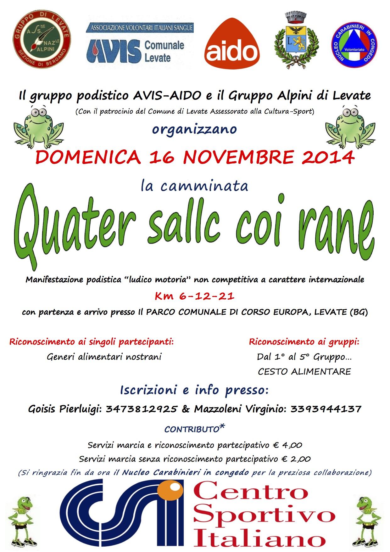 Quater sallc coi Rane a Leat 2014
