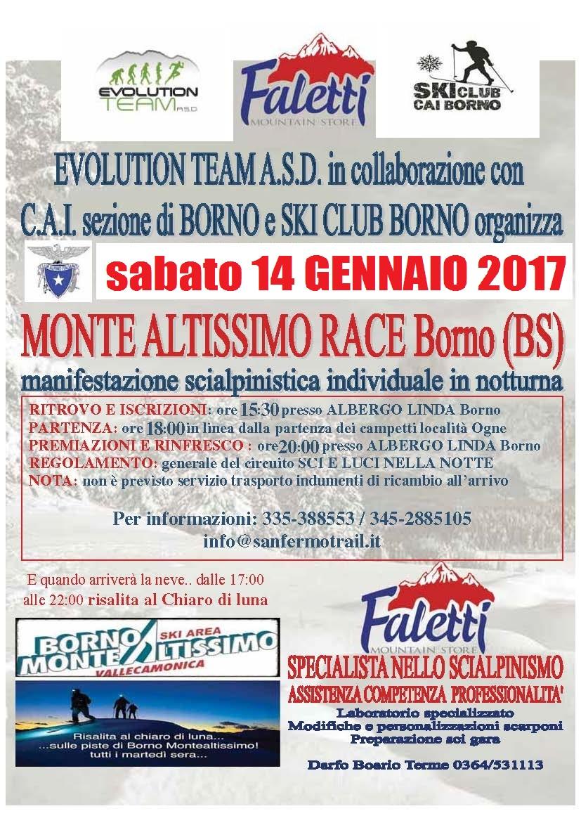 Monte Altissimo Race 2017