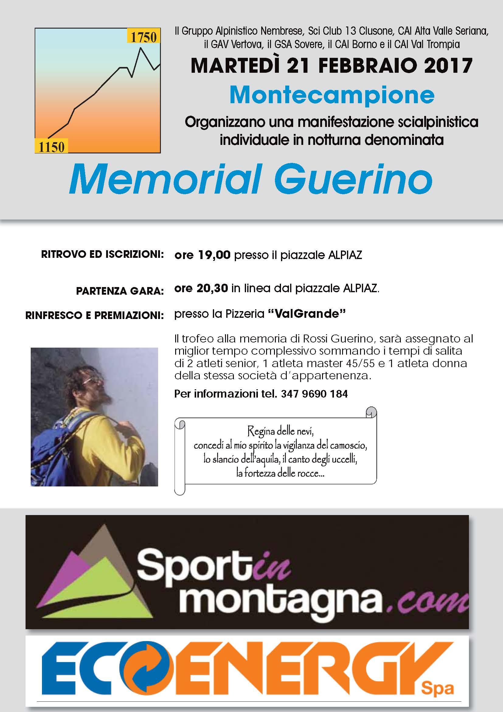 Memorial Guerino 2017