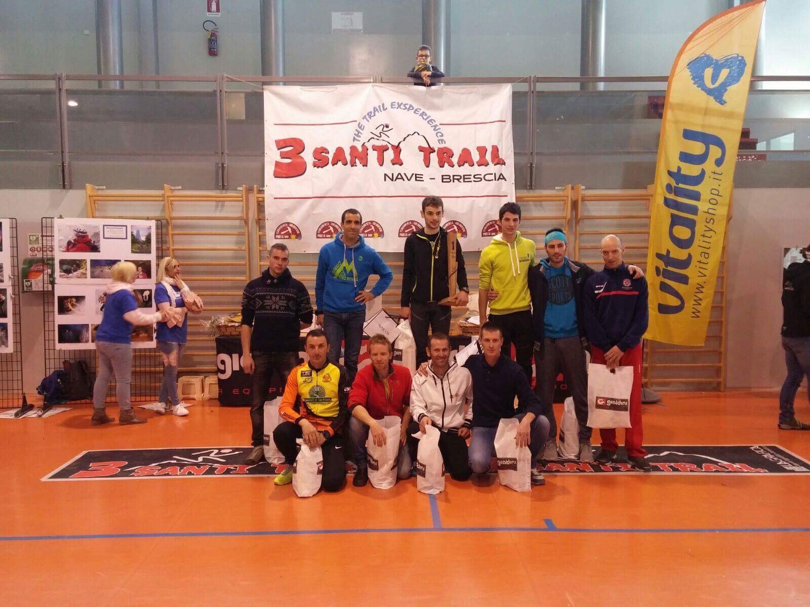 3 santi trail 2017